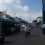 Straßenszene in Haifa