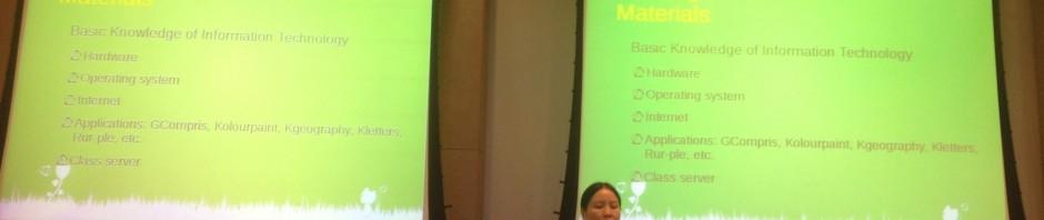 Pockey Lam über Computerunterricht für Migrantenkinder in Peking auf der #OpenSym