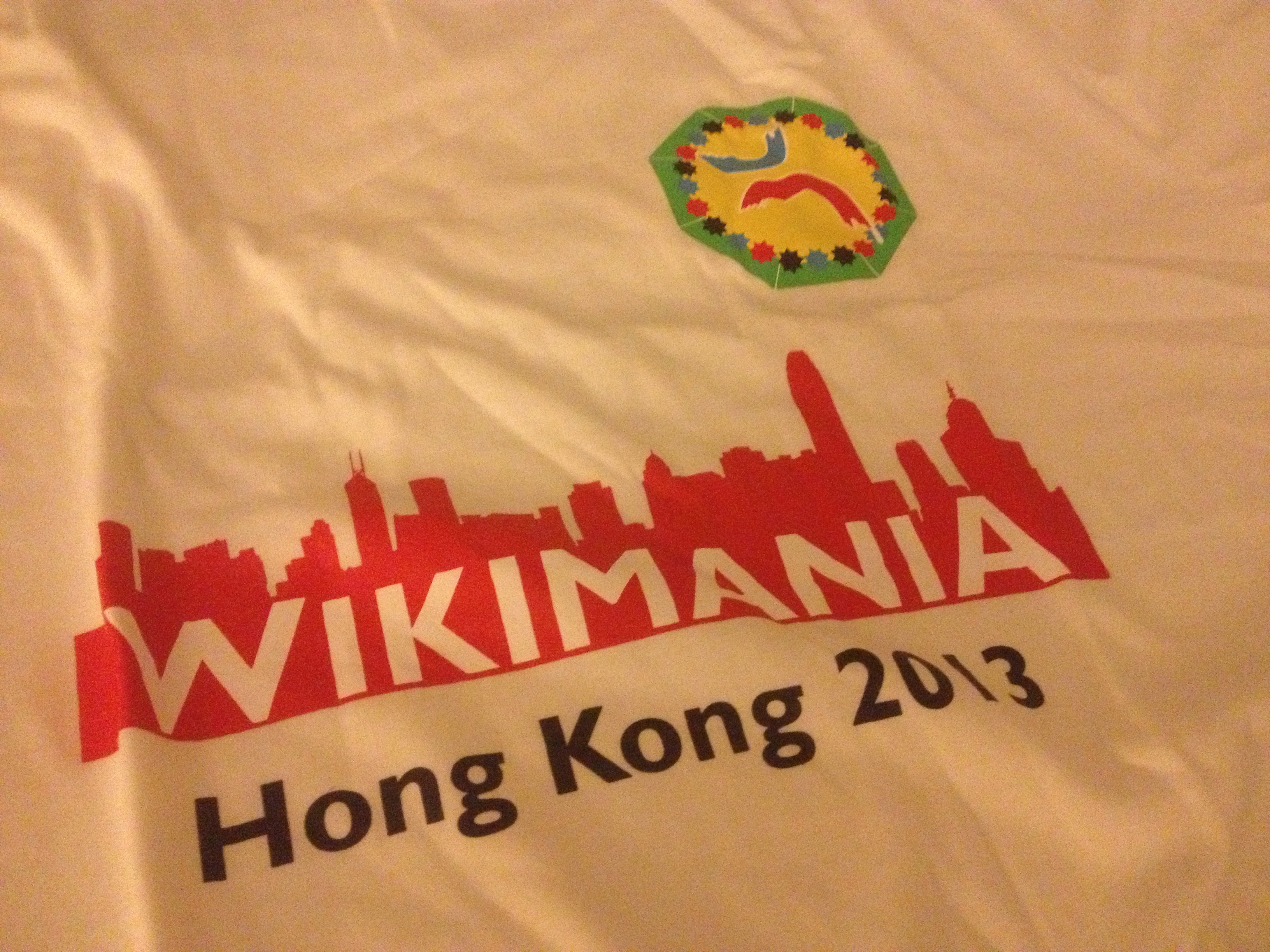 Wikimania 2013 T-Shirt. Foto: Sebastian Wallroth, CC-BY-3.0