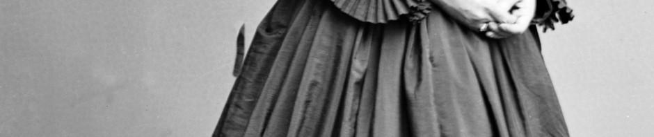 Pauline Cushman, amerikanische Spionin. Foto aufgenommen zwischen 1855 und 1865. Public Domain.