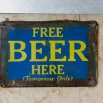 Free Beer. Foto: Tom Morris CC-BY-SA-3.0 via Wikimedia Commons