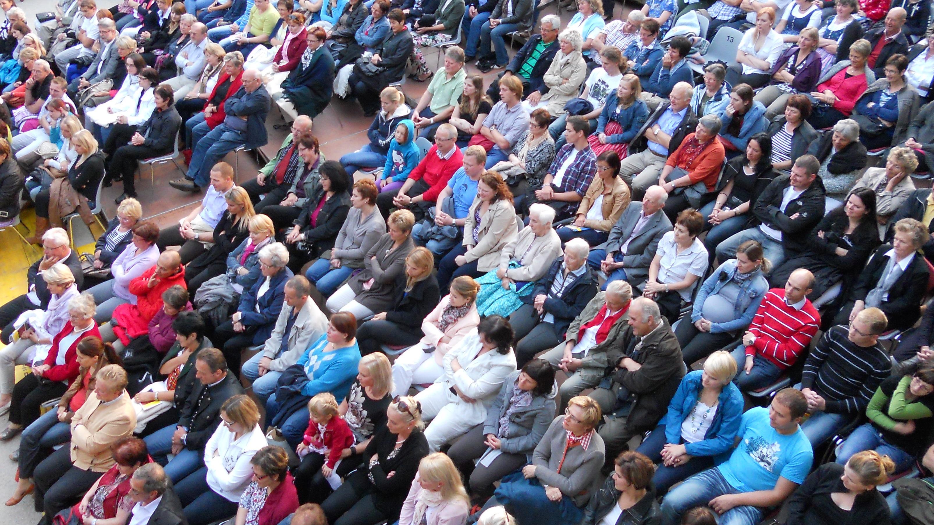 Publikum. Foto: Volksbuehne, CC-BY-SA-3.0